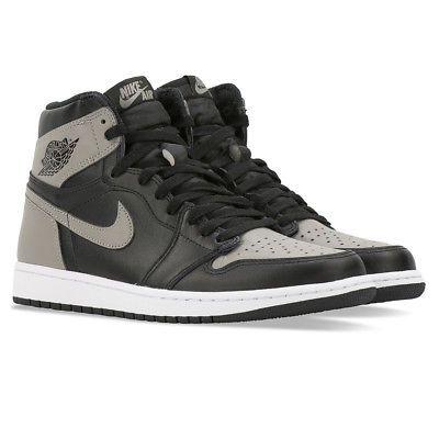 a5bf0deeb4e Nike Air Jordan 1 Retro High OG Shadow 2018 Black Medium Grey White 555088- 013