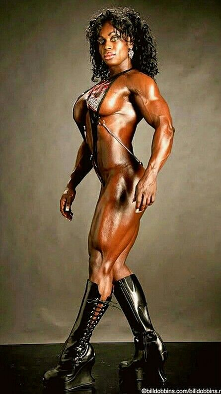 Ebony bodybuilders