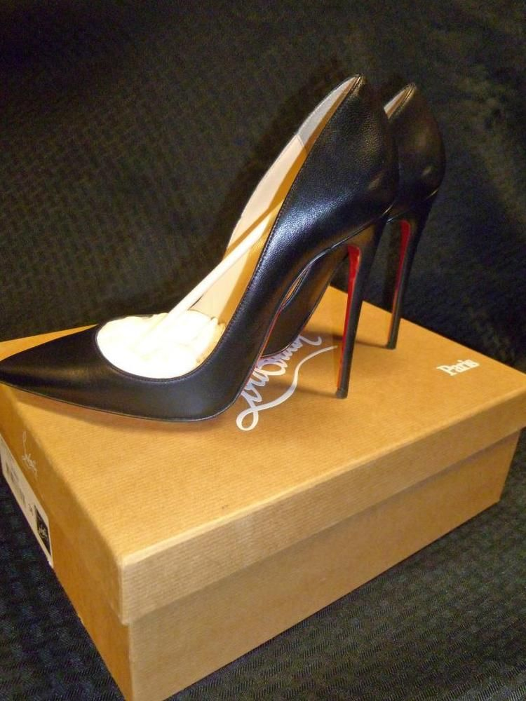 599a84b980e Christian Loubouton Black SO KATE 120mm heel Size 36 (5 US) #fashion ...
