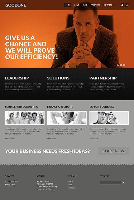 Template 36611 Drupal Web Design Linkedin Network