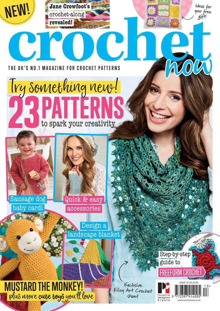 Crochet Now 13 2017 轻描淡写 轻描淡写 Crochet Magazines