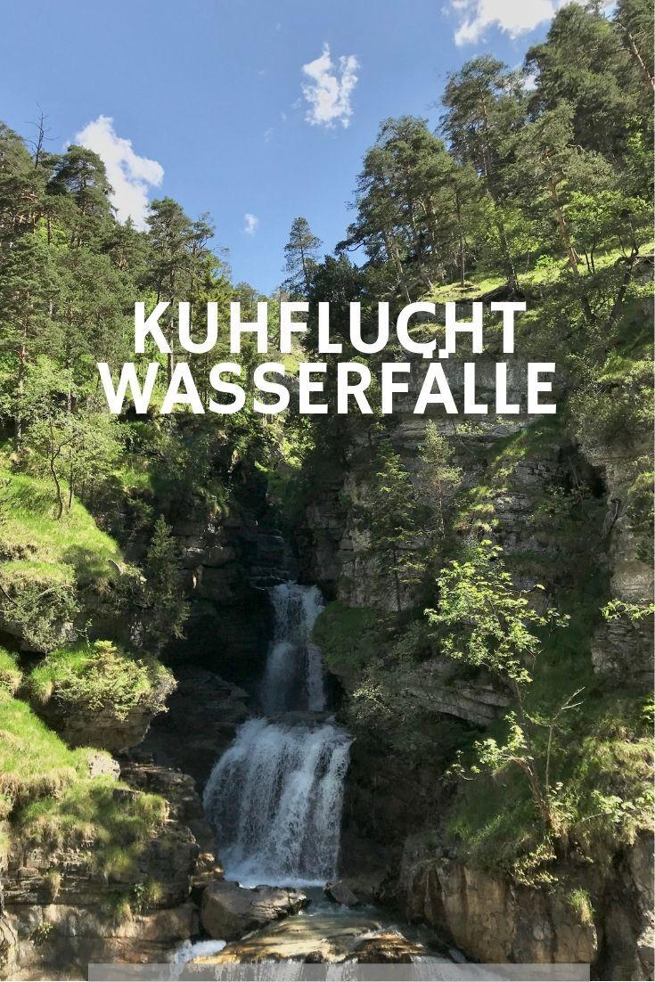 KUHFLUCHTWASSERFÄLLE Farchant Wasserfall bei GAP, Bayern