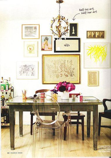 Framed in 10 Ways | Arranging pictures, Walls and Kitchens