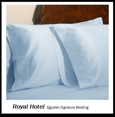 Royal Hotel S Solid Blue 300 Thread Count 2pc Twin Duvet