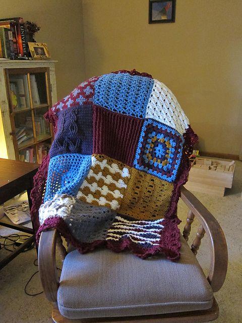 Ravelry: Crochet Sampler Afghan pattern by Marianne Forrestal | Love ...