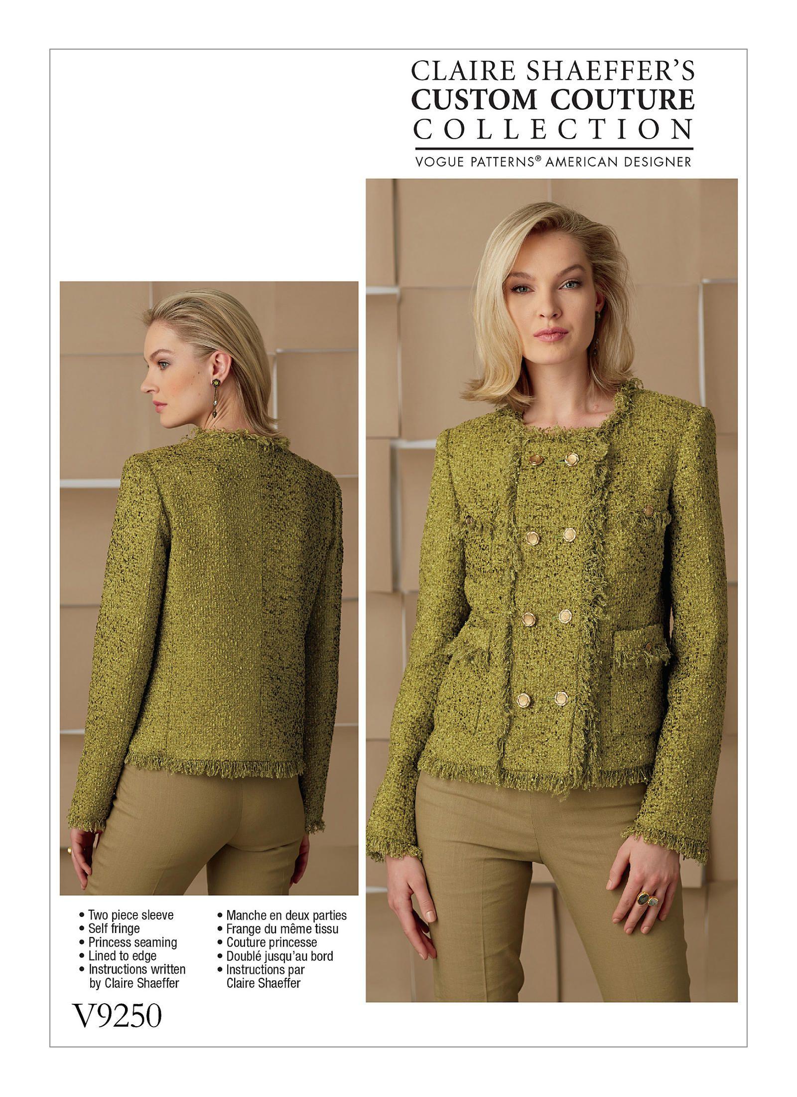 V9250 | Vogue Patterns | Crafts | Pinterest | Vogue patterns ...