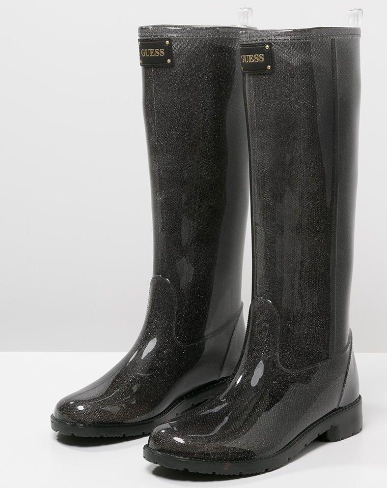 Ribby Chaussure Black Pinterest Guess En Bottes Caoutchouc Aj34RL5qc