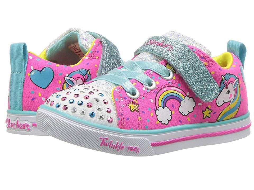 SKECHERS KIDS Twinkle Toes Sparkle Lite Unicorn Craze