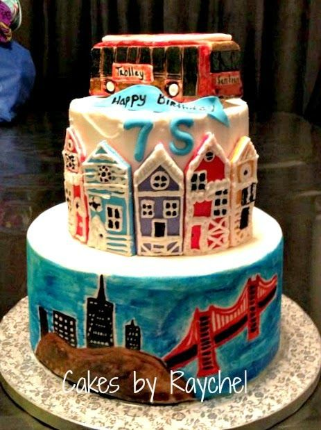 san francisco cakes Google Search cake ideas Pinterest San