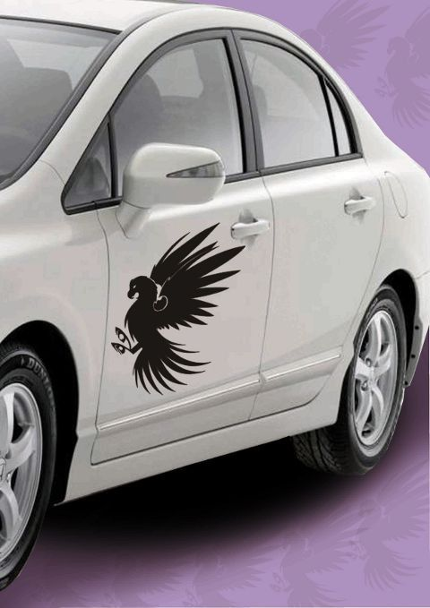 Get This Unique Tribal Angel Car Decal Sticker To Create A - Create car decals