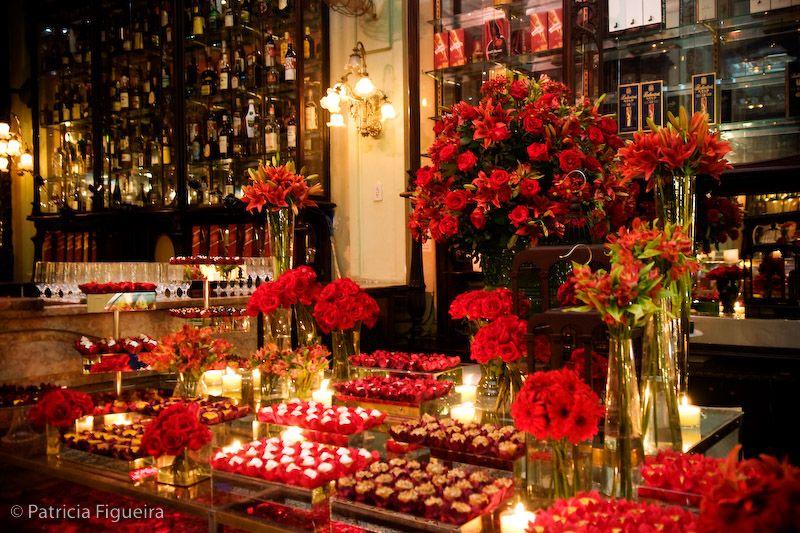 decora??o de casamento vermelho Globo Dicas Festa Luciene ...
