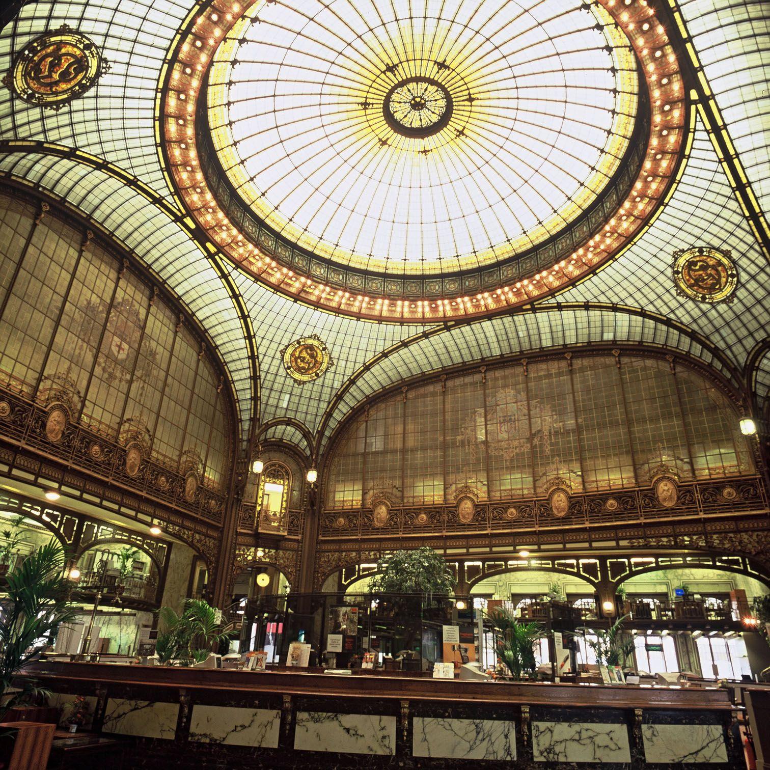 Agence centrale de la Société Générale, Paris 9e by J.M. Gras