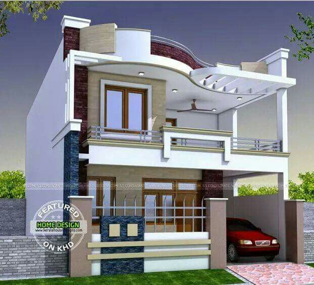 Glory Architecture 25x50 House Elevation Islamabad: Pin By Dhananjay Sondkar On Architecture In 2019