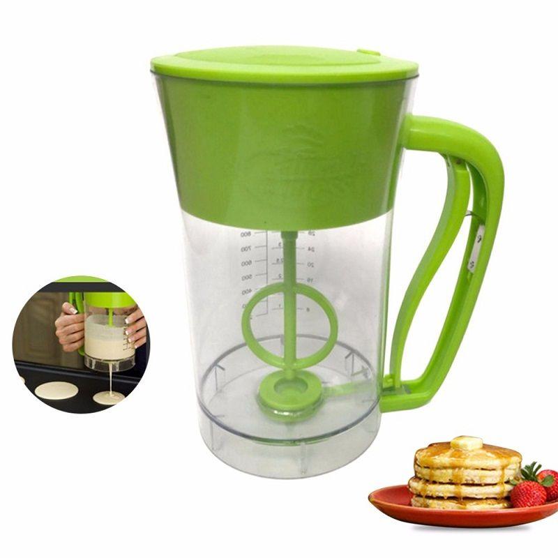Best price new fast automatic kitchen mixing pancake maker