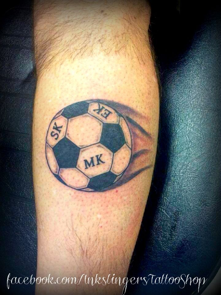 Tattoo Small Ball: Soccer Tattoo Billyinkslinger