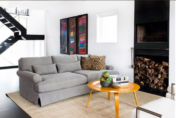 Maxwell Slipcover From Interior Define Interior Living Room Designs Interior Define