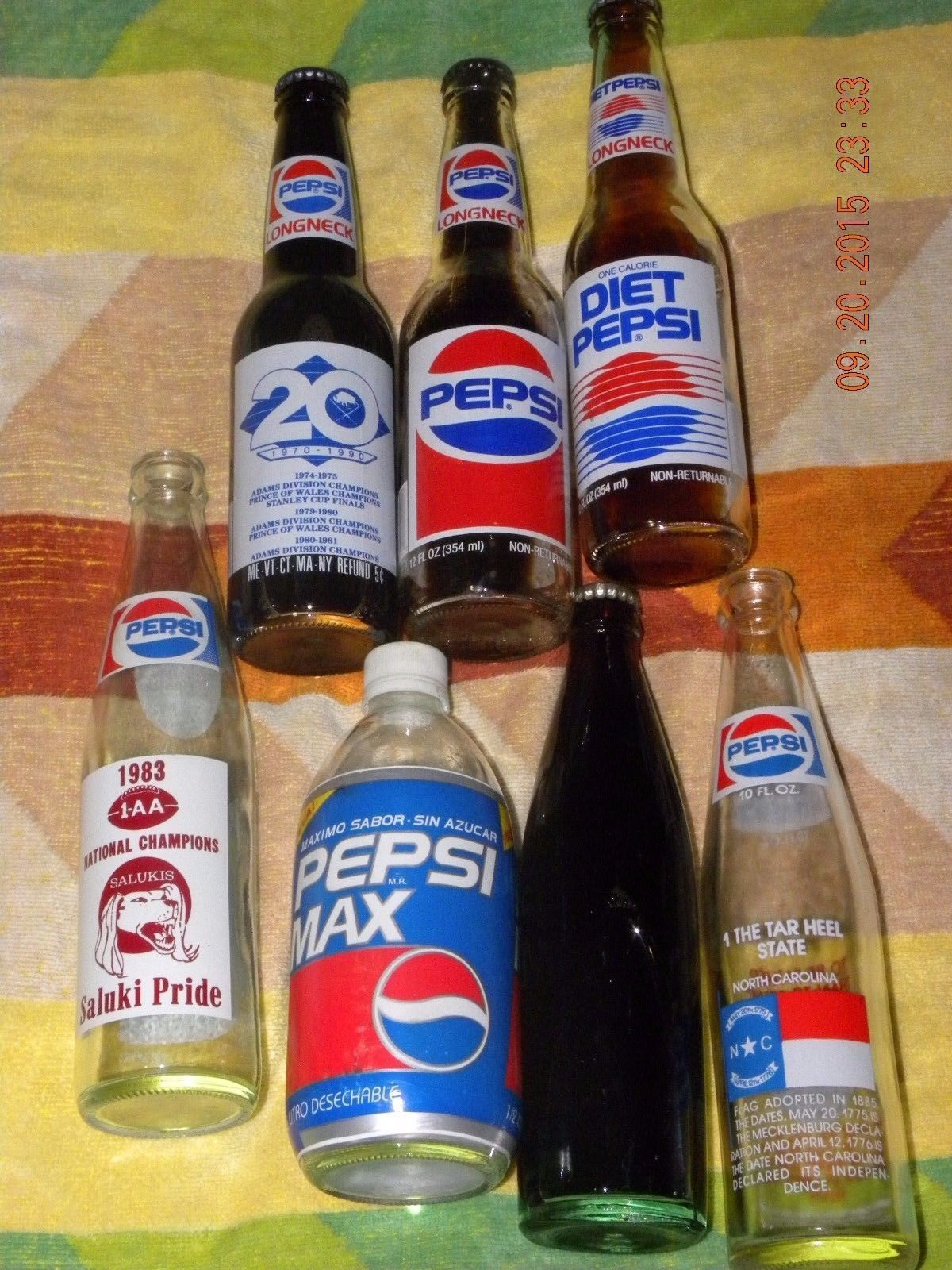 Vintage 26X Pepsi Cola Collectible Lot Bottles Pins Cups Card