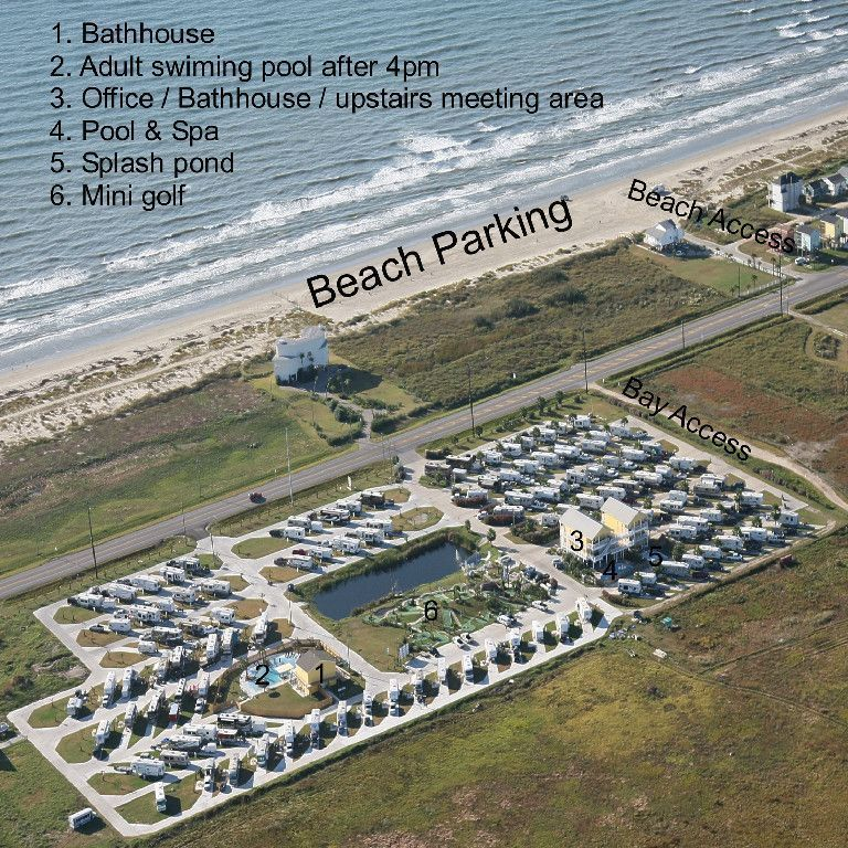 Jamaica Beach Rv Park Galveston Texas