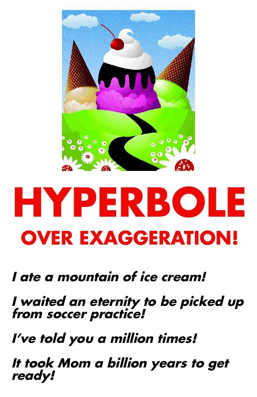 Hyperbole Teacher Talk Pinterest Language English Language
