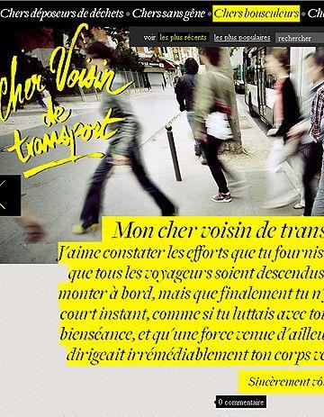 Marre de vos voisins de transport? Défoulez-vous! (06/07/11) #moyens de transport