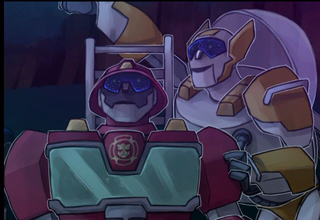 Blades And Heatwave Together Gazing At The Stars Fangirls Shhhiiiiippppp I Absolutely Love It When Thes Transformers Rescue Bots Rescue Bots Fan Art