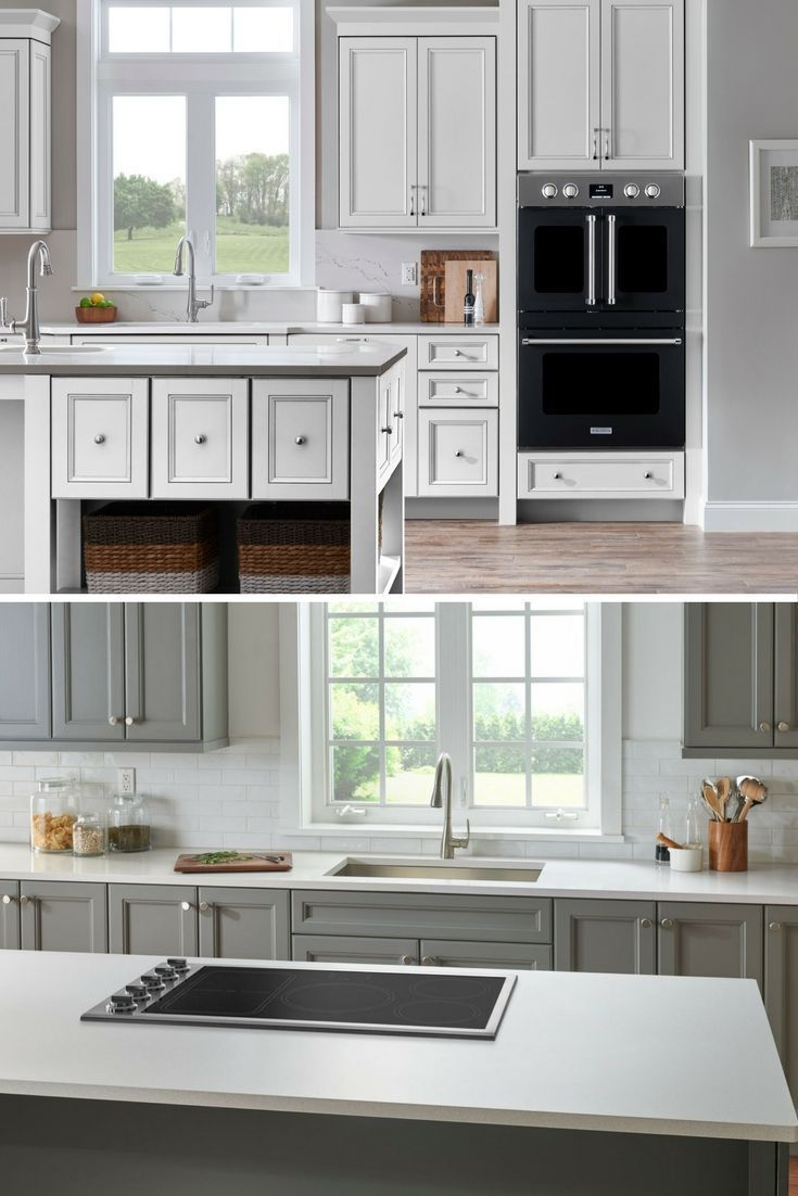 Bluestar kitchen featuring a induction cooktop and stunning double ...