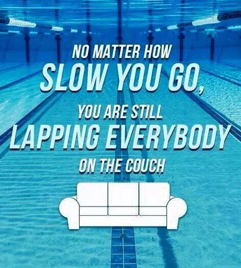 It Doesn't Matter How Slow, Just Keep Moving Forward