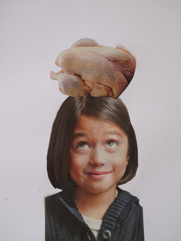Chicken hat.