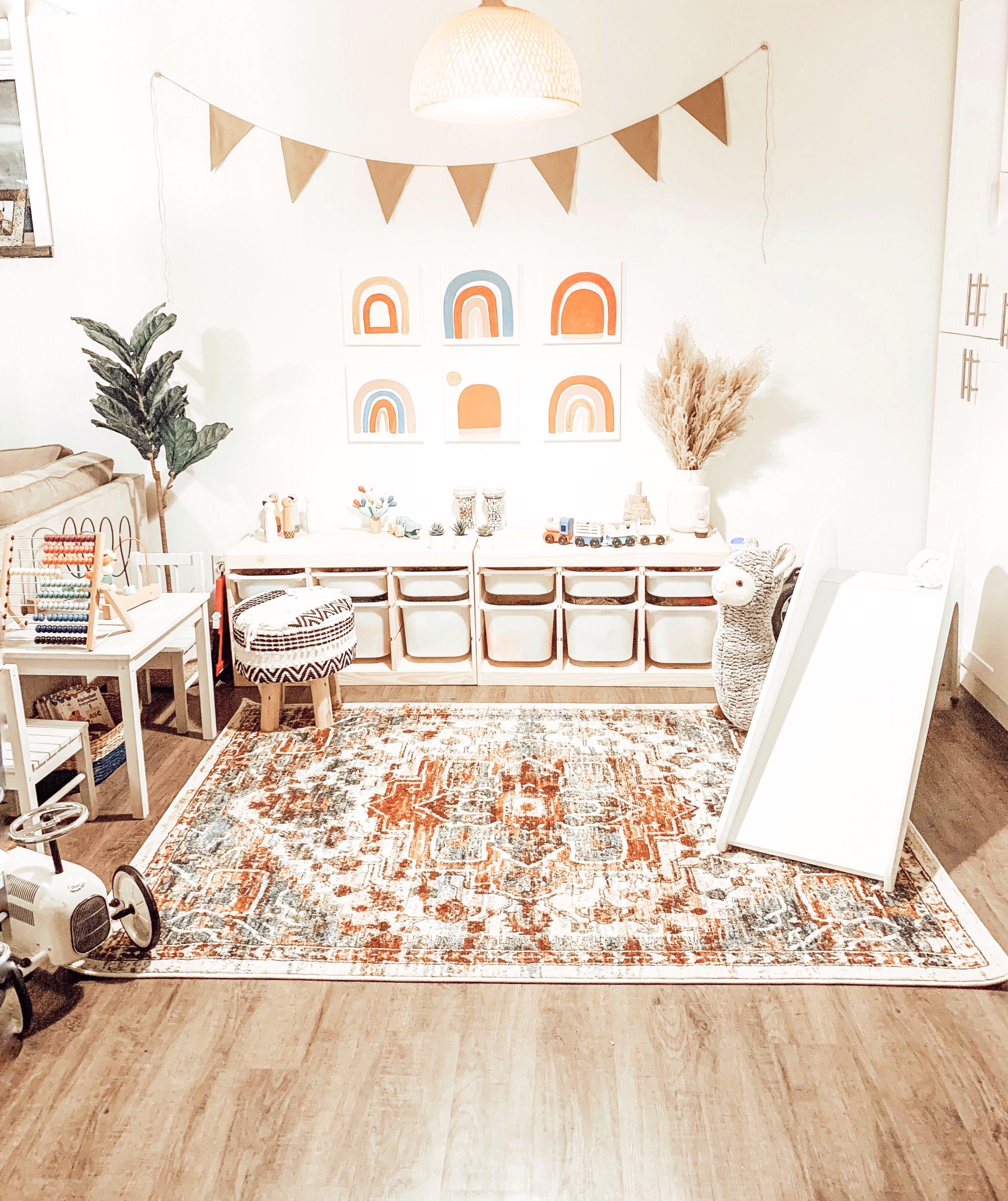 Boho playroom