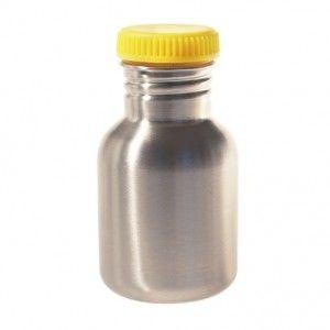 Blafre rvs drinkfles geel