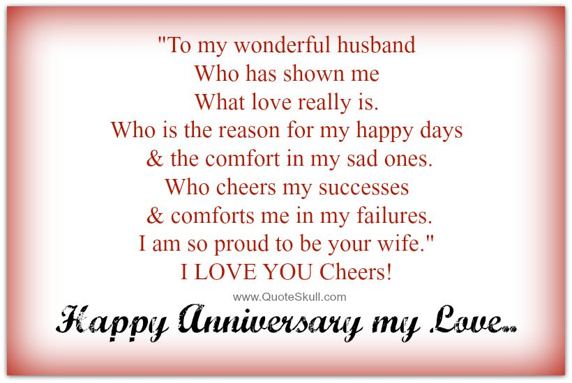 Anniversary Quotes For Husband Happy anniversary quotes for husband from wife | Happy Anniversary  Anniversary Quotes For Husband