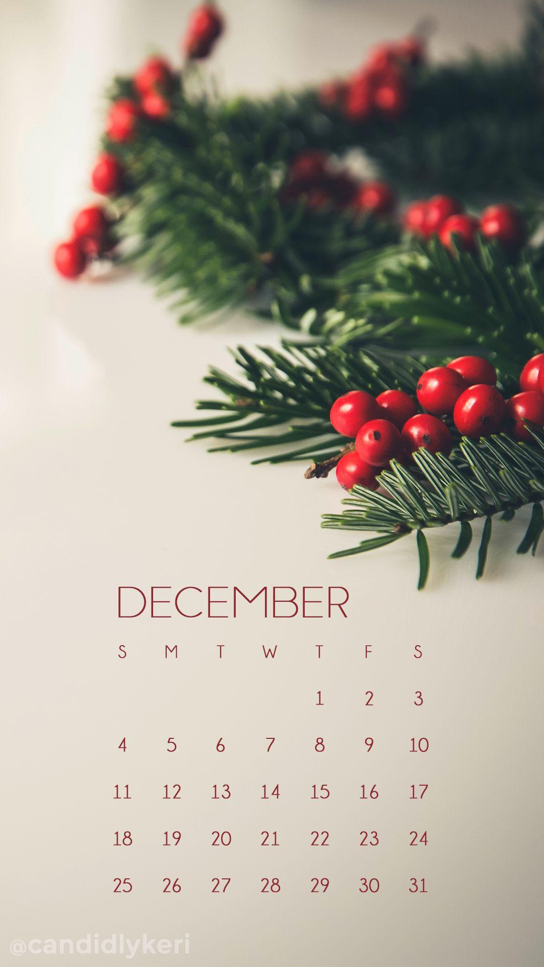 Hollies December calendar 2016 wallpaper you can download