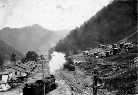 Early View Of Logan West Virginia History Life In North Korea Virginia Hill
