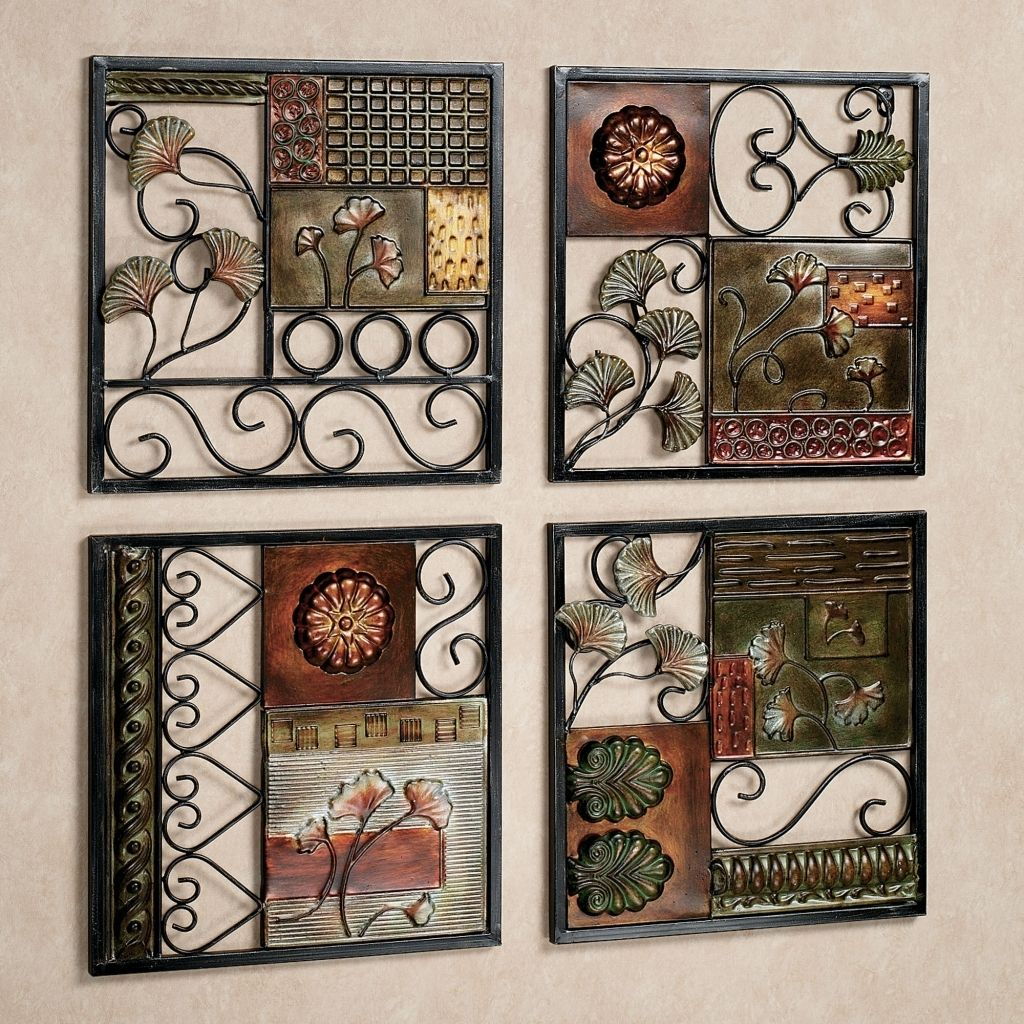 Decorations cool metal wall decor as home decorations round wall