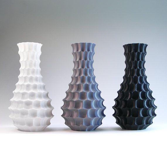 Shell Vase Ornamental Vase Beautiful Honeycomb Modern Art