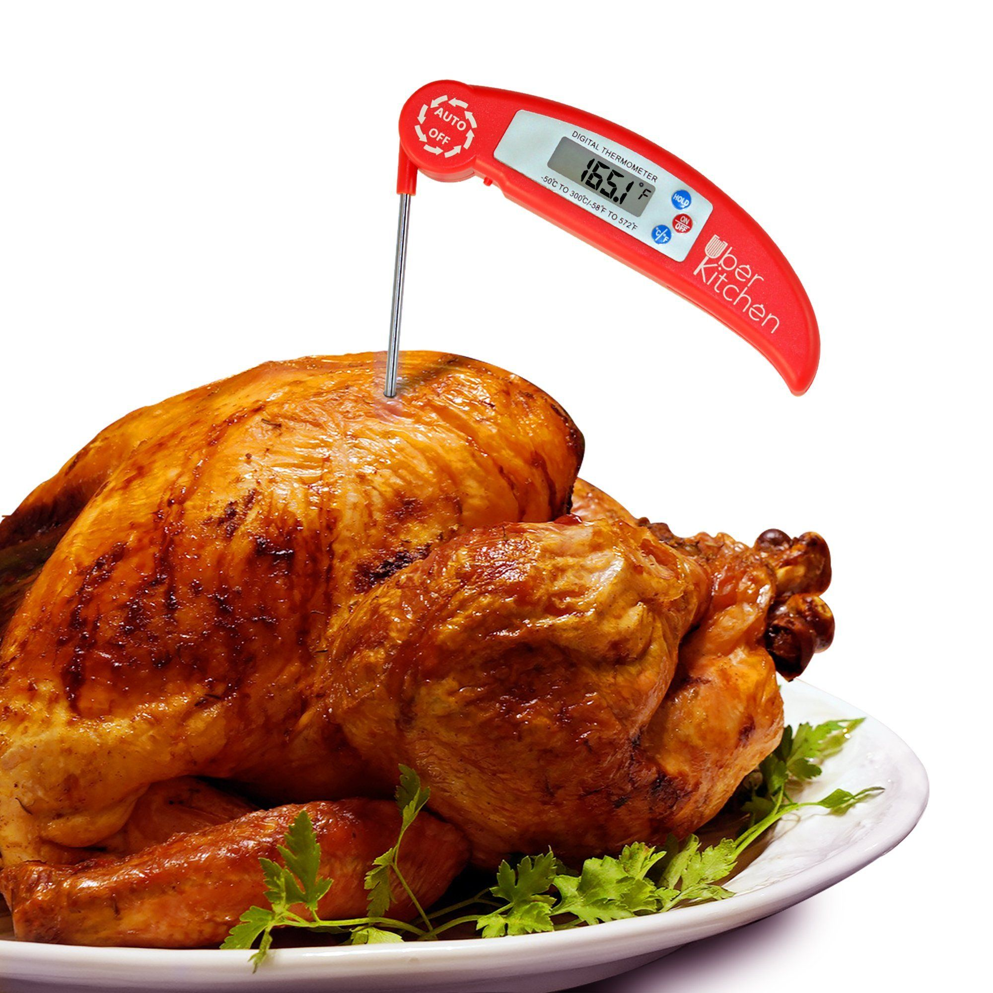 digital instant read food meat kitchen thermometer for