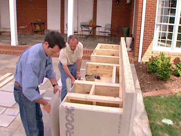 How To Weather Proof An Outdoor Kitchen Cabinet : How To : DIY Network