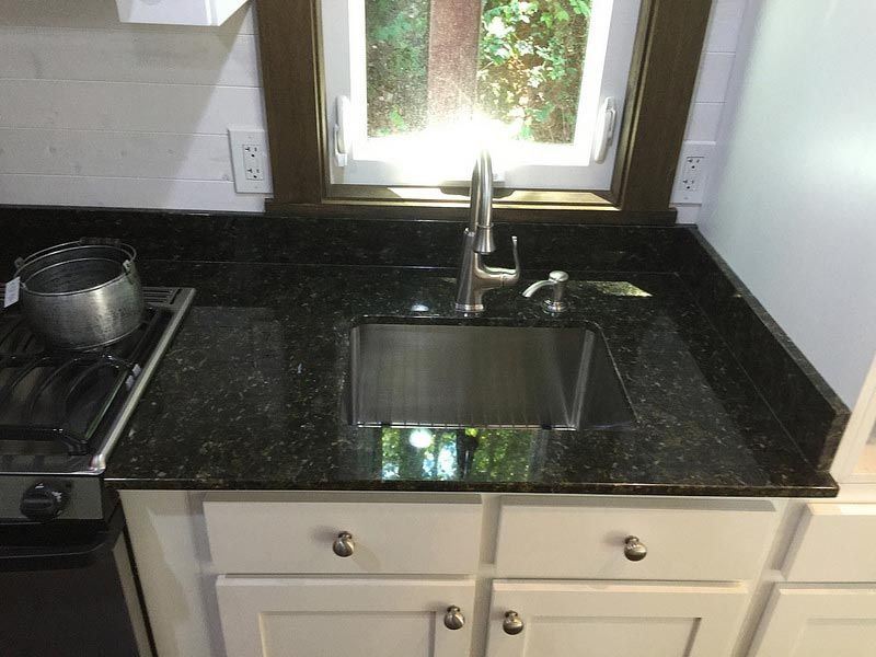 High Quality Kitchen Sink And Granite Countertops   Nooga Blue Sky By Tiny House  Chattanooga