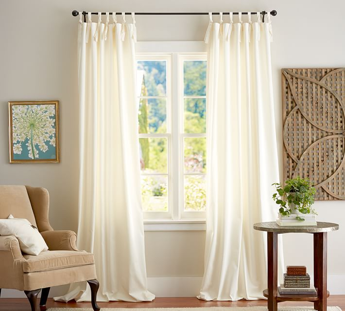 http://www.potterybarn.com/products/cameron-cotton-tie-top-drape/?pkey=ccotton-drapes&