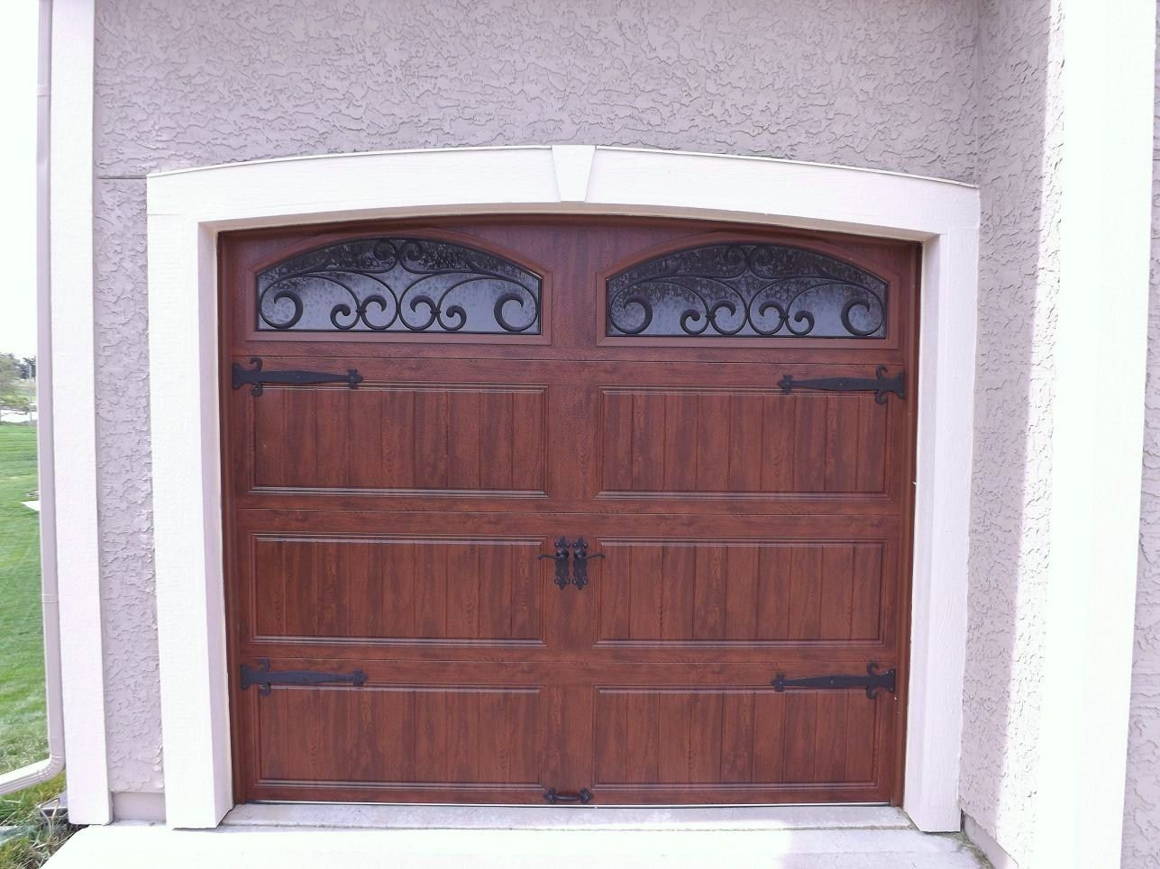 Clopay gallery collection steel garage door with ultra for Clopay wood garage doors