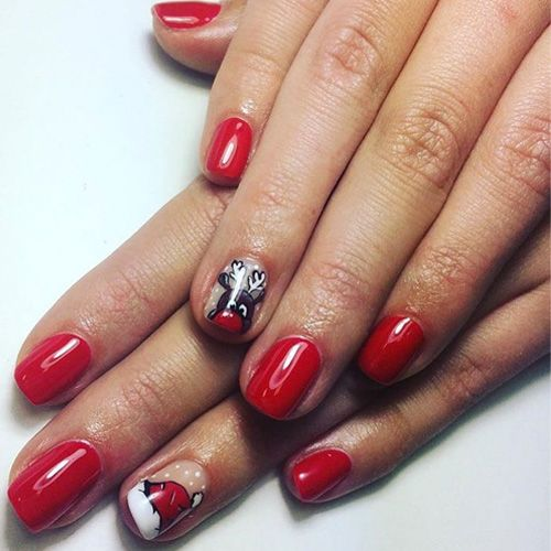 The only 36 christmas nails you need to see this year prinsesfo Gallery