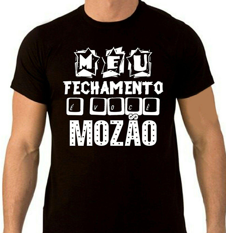 Meu fechamento é você, Mozão 🎤🎶 #deuonda pra rapaziada também. Apenas R$30,00.  http://www.mondine.com.br/CamisetaMeuFechamentoevoceMozaoMondine
