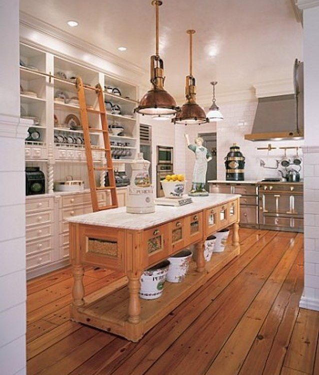 12 Inspiring Kitchen Island Ideas: Repurposed / Reclaimed / Nontraditional Kitchen Island