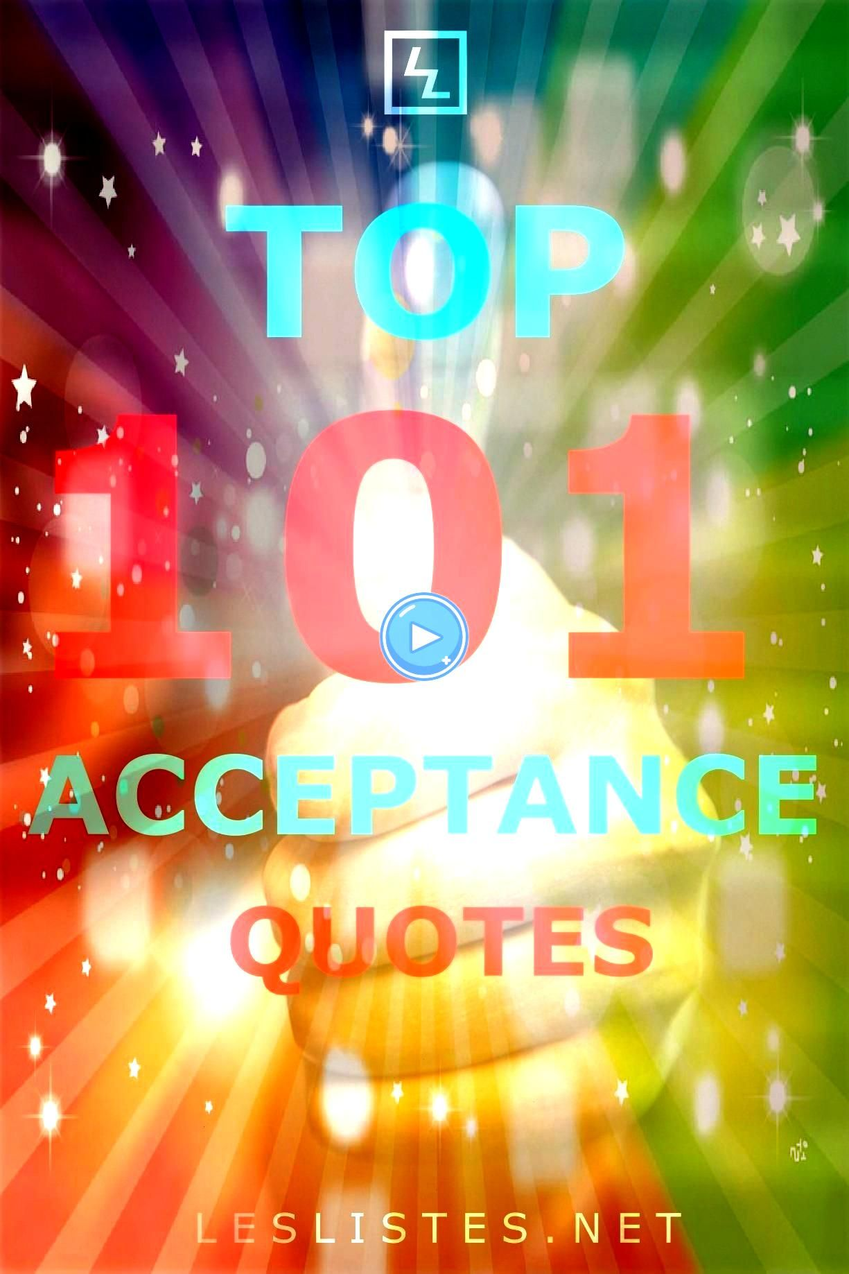 not always the easiest thing to do With that in mind check out the top 101 acceptance quotes you should knowAcceptance is not always the easiest thing to do With that in...