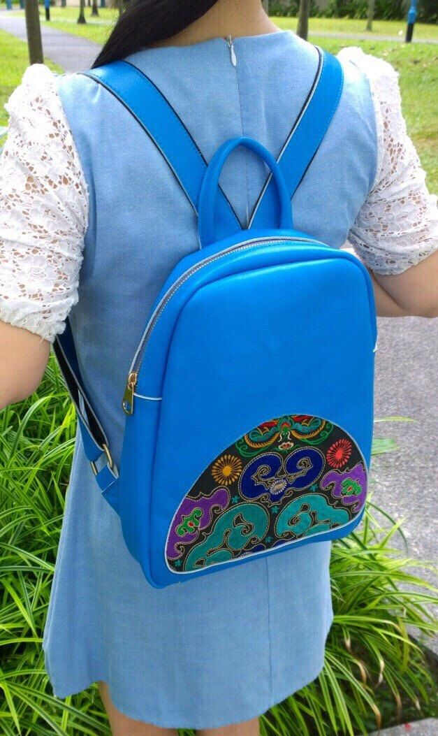A personal favourite from my Etsy shop https://www.etsy.com/sg-en/listing/213481493/on-sale-boho-backpack-embroidery-leather