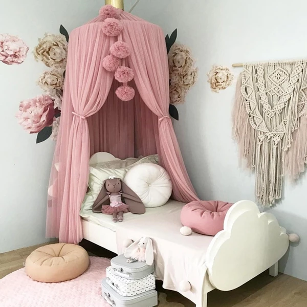 Nordic Style Mosquito Net Ball In 2020 Kids Room Design