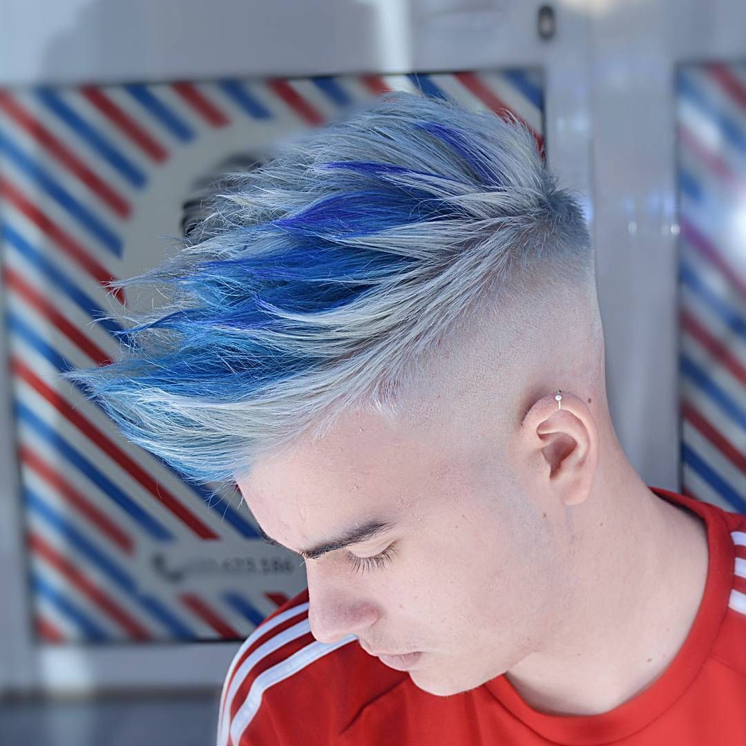 20 Best Hair Color For Guys In 2018 In 2020 Boys Colored Hair Cool Hair Color Men Hair Color