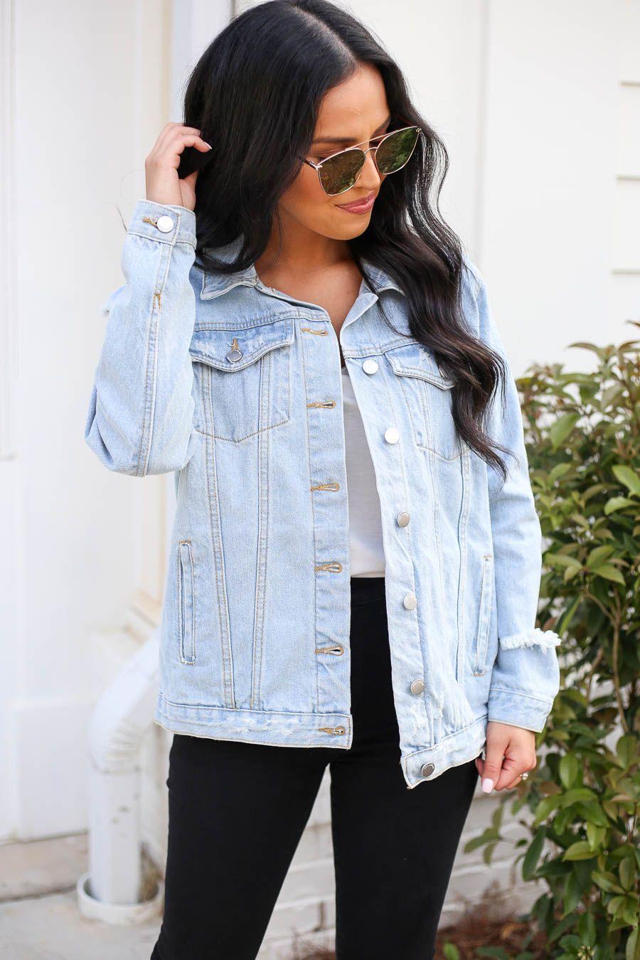 New Lydia Oversized Denim Jacket Denimjacket Blue Denim Jacket Outfit Denim Jacket Outfit Lookbook Outfits [ 1350 x 900 Pixel ]
