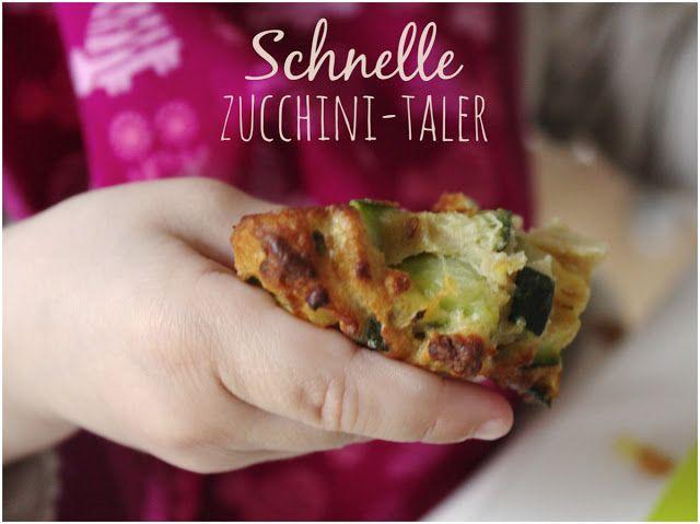 schnelle zucchini taler aus dem ofen rezept in 2019 essen f r die kleinen pinterest. Black Bedroom Furniture Sets. Home Design Ideas