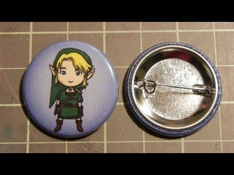 How To Make A Button Pin Button Pins Are Pretty And Inexpensive Pieces Of Jewelry To Make Yourself They Have End How To Make Buttons Button Badge Button Pins